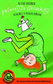 """Cover Club Taschenbuch """"Prinzessin Grünerbse schlägt drei Purzelbäume"""""""