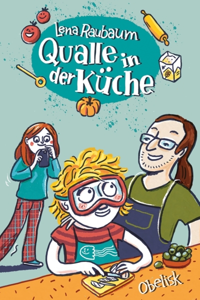 Cover Qualle in der Küche